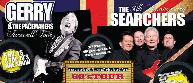 Gerry & The Pacemakers with Special Guests The Searchers
