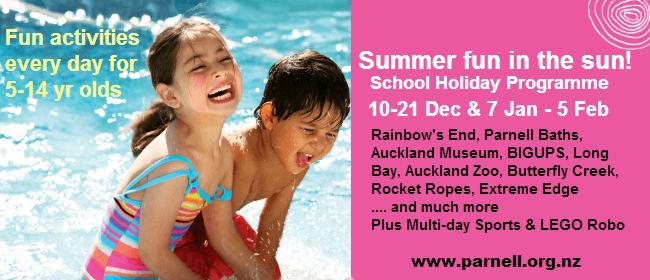 Splash-Down - Summer School Holiday Programme