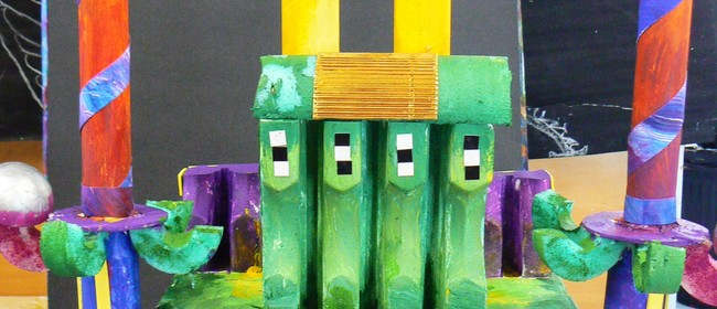 Paint, Costume, Mixed Media and Clay Classes for Children