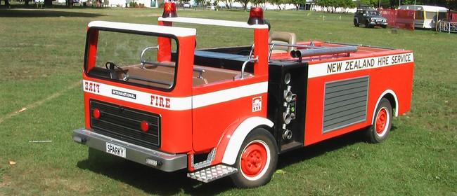 Sparky The Miniature Fire Engine