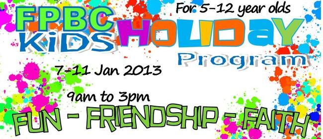 Free Kids Holiday Programme