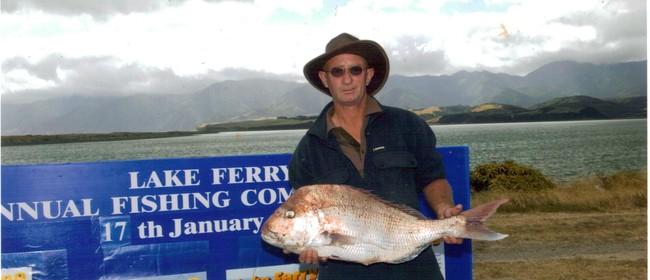 Lake Ferry Beach Fishing Contest 2013