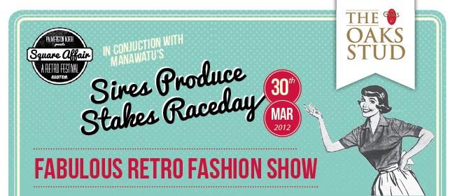 Square Affair Fabulous Retro Fashion Show