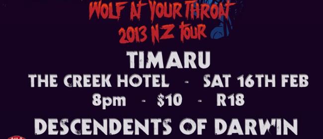 Osmium - Wolf At Your Throat 2013 NZ Tour