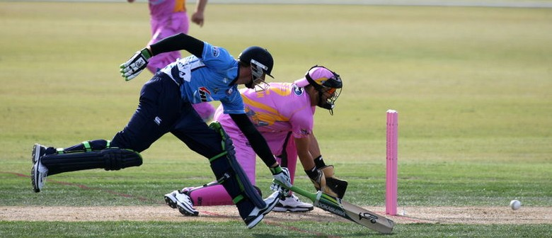 Auckland Aces v Northern Knights - HRV Cup Twenty 20