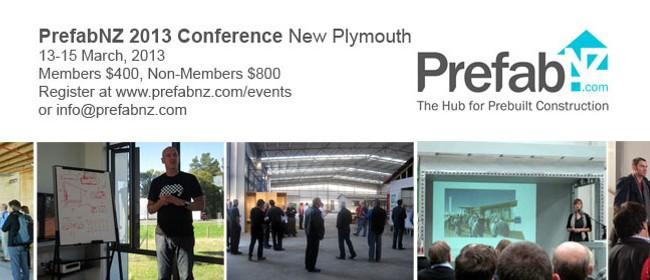 PrefabNZ 2013 Conference