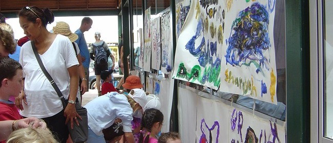 Northland Age Mural Painting - Paihia Summer Festival