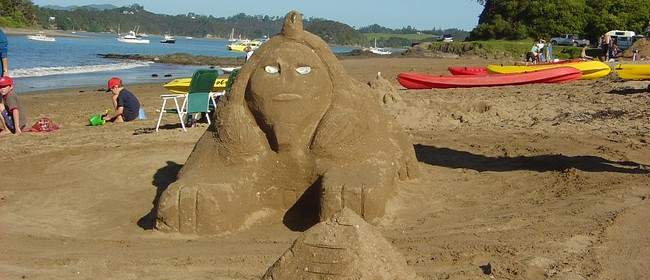Sandcastle Competition - Paihia Summer Festival