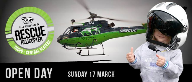 Greenlea Rescue Helicopter Open Day