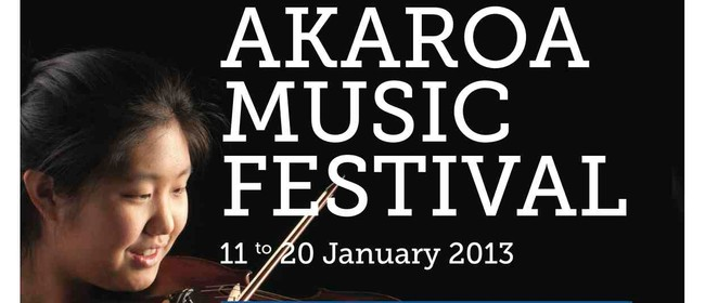 International Akaroa Music Festival - Young Soloist's Matine