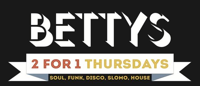 2 For 1 Thursdays w/ DJs Micah, B-Lo, Gus & Kev Fresh