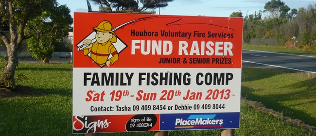 Houhora Rural Voluntary Fire Force Fishing Competition
