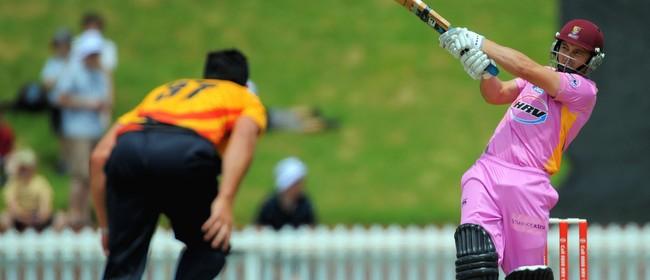 HRV Cup Twenty20 Cricket - Knights vs Firebirds