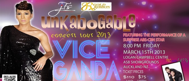 Vice Ganda Unkabogable Concert Tour in New Zealand