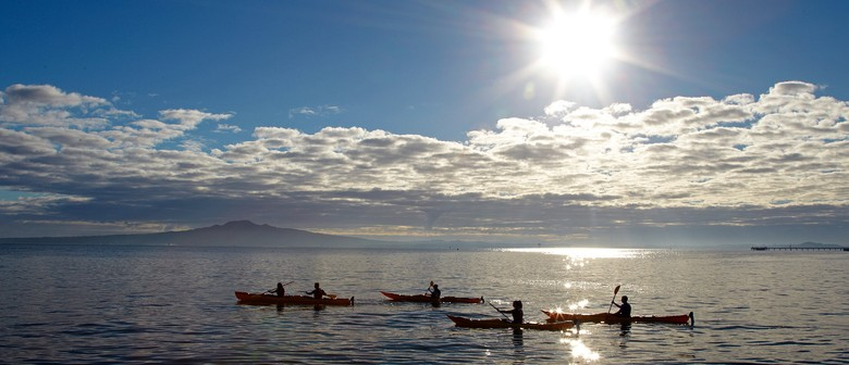 Sunset / Night Kayak to Rangitoto Island