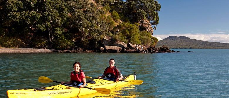 1/2 Day Sea Kayak Tour to Motukorea / Browns Island