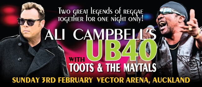 Ali Campbell's UB40 + Toots & The Maytals