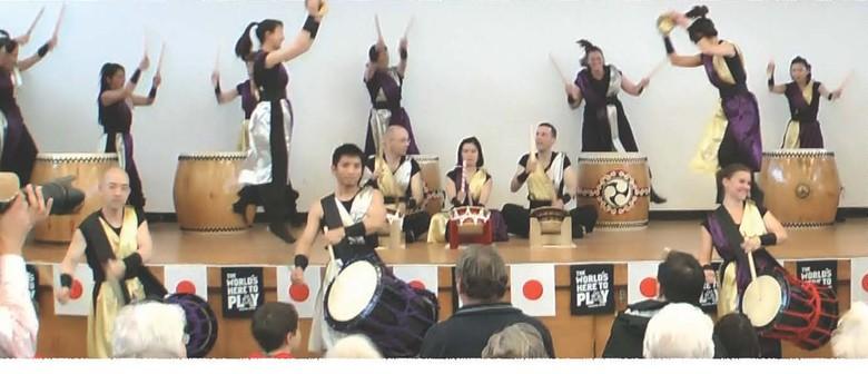 Japanese Drumming Concert by Haere Mai Taiko