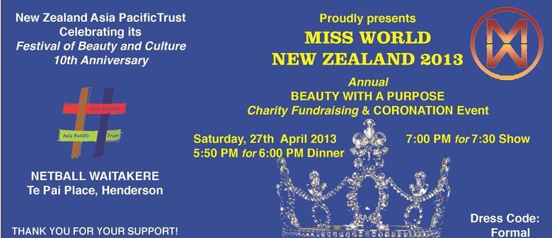 Miss World NZ Festival of Beauty 2013