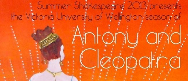 Summer Shakespeare 2013 - Antony & Cleopatra