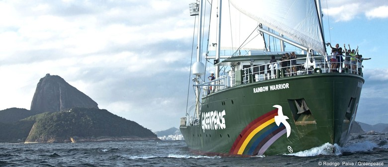 Welcome Aboard The New Rainbow Warrior