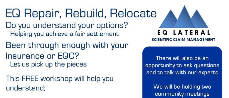 Repair, Rebuild, Relocate – Confused or Worried?