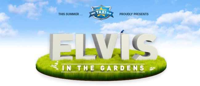 Elvis in the Gardens 2013