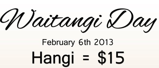 Waitangi Day Hangi