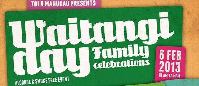 Waitangi Day Family Celebrations 2013