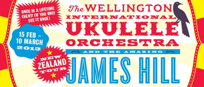 Wellington International Ukulele Orchestra and James Hill