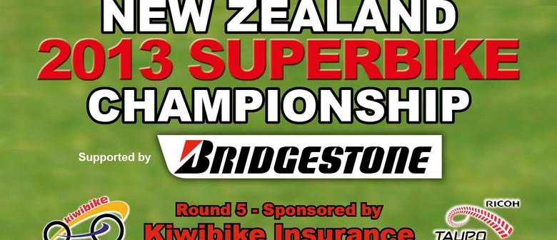 NZ 2013 Superbike Championships - Round 5