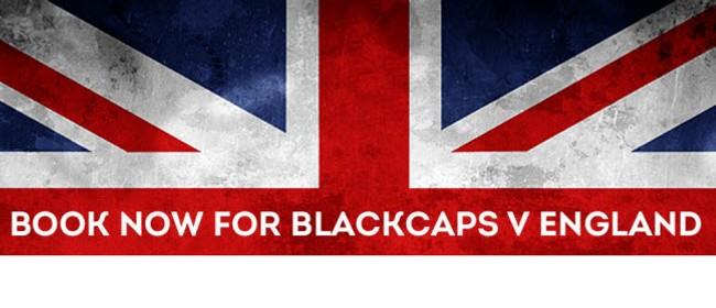 ANZ Test Series: Blackcaps v England