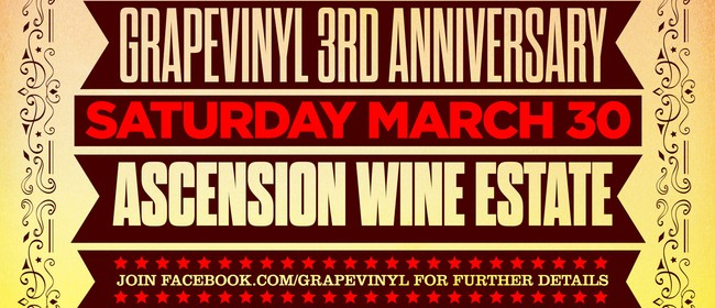 GrapeVinyl 3rd Easter Anniversary