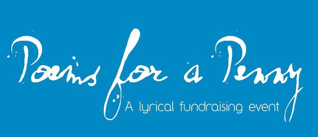 Poems for a Penny - A Lyrical Fundraising Event