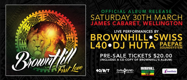 "BrownHill ""First Love"" Album Release"