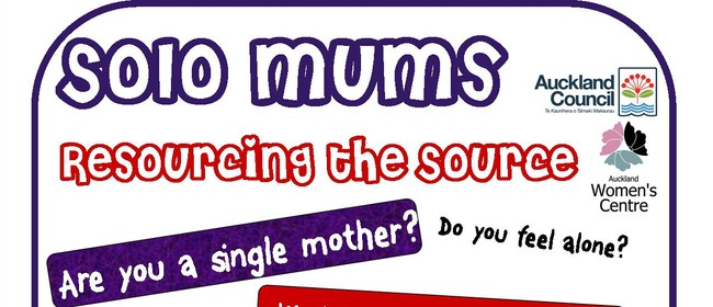 Solo Mums - Resourcing the source