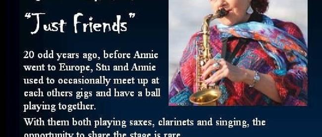 Annie Davies Stu Buchanan