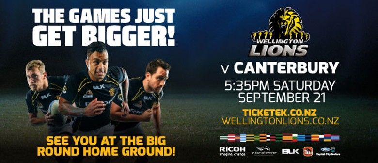 Wellington Lions vs Canterbury