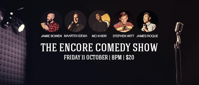 The Encore Comedy Show - Jamie Bowen