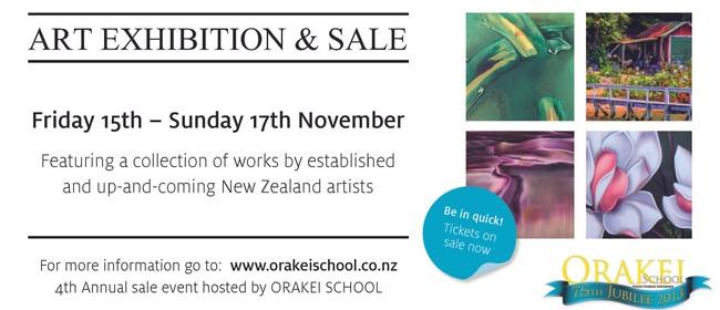 Orakei School Art Exhibition & Sale 2013