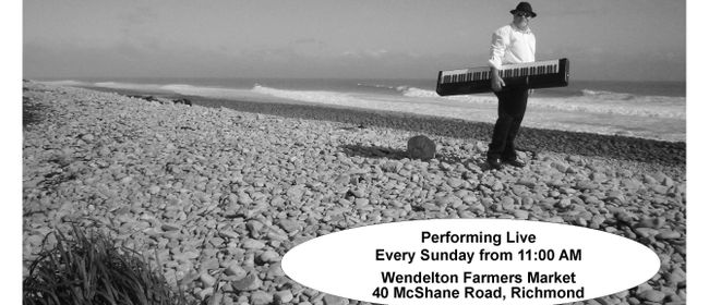 Barry Korcheski - Performing at Wendelton Country Market