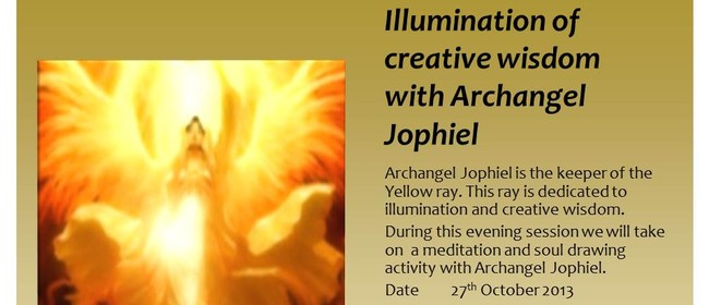 Illumination of creative wisdom with Archangel Jophiel