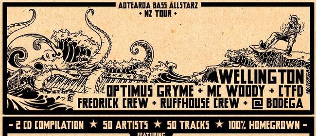 Aotearoa Bass Allstarz Release Party ft Optimus Gryme