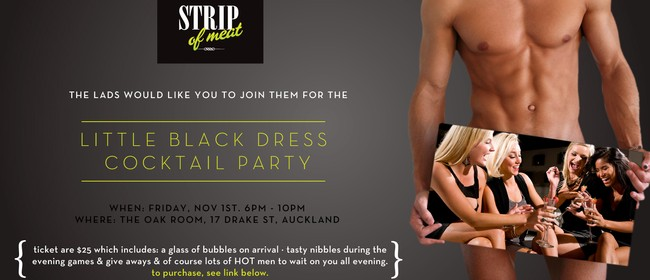 Strip of Meat Topless Waiters - Little Black Dress Party