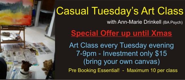 Casual Tuesday's Art Class