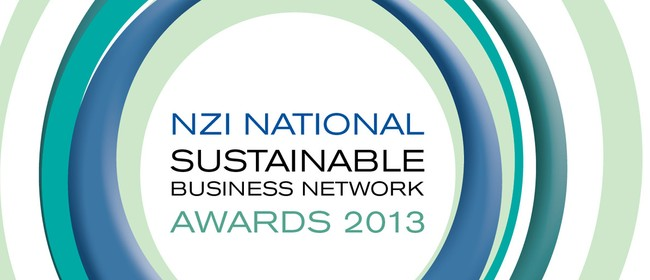 NZI National Sustainable Business Network Awards 2013