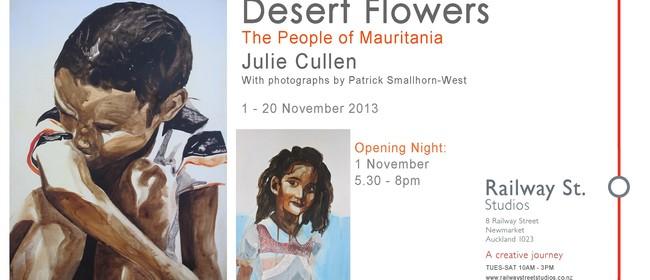 Desert Flowers, new work by Julie Cullen