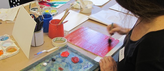 Adult Studio Workshop: Contemporary Painting