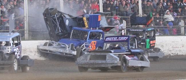 North vs South Stockcar Teams and Sprintcar War of the Wings