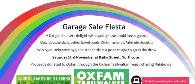 Garage Sale Fiesta for Oxfam